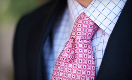 2 Custom-Made Shirts (a $290 Value) - The Custom Suit Shop in Atlanta