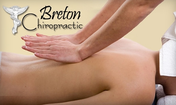 Breton Chiropractic - Kentwood: $25 for a One-Hour Massage at Breton Chiropractic