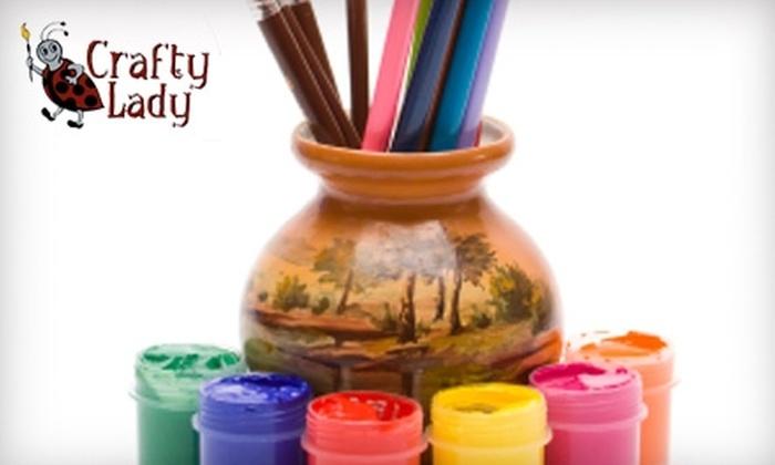 Crafty Lady Ceramics - Nampa: $10 for $20 Toward Any Project at Crafty Lady Ceramics