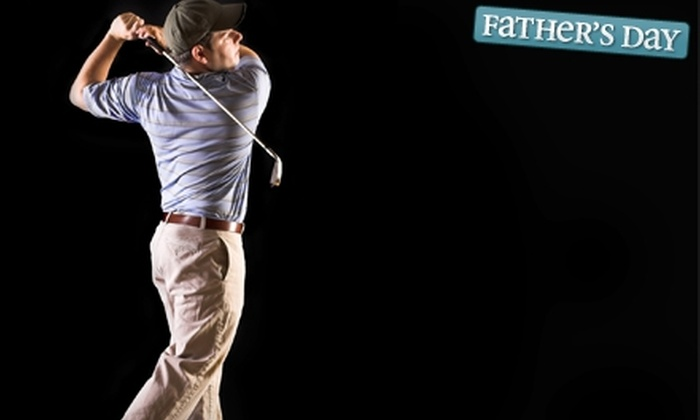 Tanglewood Lakes Golf Club Dome - Anchorage: $12 for an Indoor-Driving-Range Session at Tanglewood Lakes Golf Club Dome (Up to $24 Value)