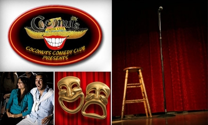 Coconuts Comedy Club - Multiple Locations: $6 for One Ticket to Coconuts Comedy Club ($12 Value)