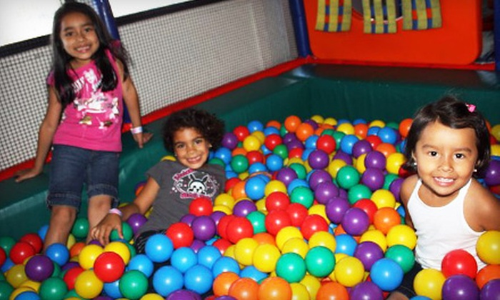 My Kids Clubhouse - Multiple Locations: Five-Admission Punch Card or Three-Month Membership to My Kids Clubhouse