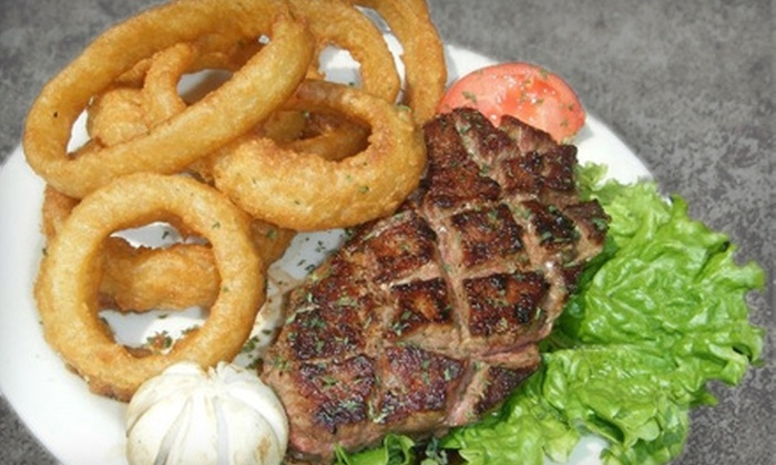 Iris's Grill - Dunedin: American Fare for Breakfast, Lunch, or Dinner at Iris's Grill in Dunedin. Two Options Available.