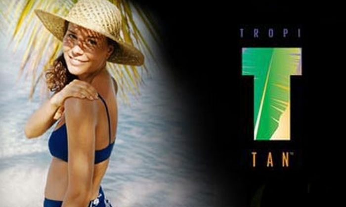 Tropi Tan - Multiple Locations: $25 for $50 of Tanning Services and Products at Tropi Tan