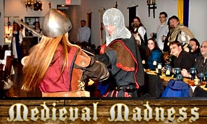 Medieval Madness - Old Town: $24 for One Adult Ticket to Medieval Madness, Featuring a Comedy Show and All-You-Can-Eat, Four-Course Feast with Ale