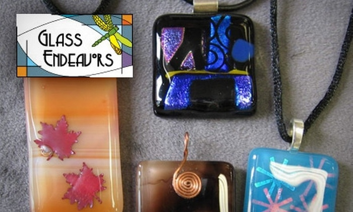 Glass Endeavors - Longfellow: $18 for Pendant-Making Class ($36 Value) at Glass Endeavors