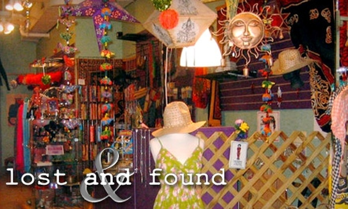 Lost and Found - French Quarter: $20 for $40 Worth of Women's Clothing and Accessories at Lost and Found