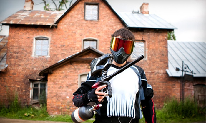 Giant Paintball - Multiple Locations: All-Day Paintball or One-Year VIP Membership to Giant Paintball