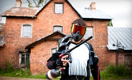 Giant Paintball: Entry, 200 Paintballs, All Day Air, Gun Rental, and Equipment  - Giant Paintball in Alpine
