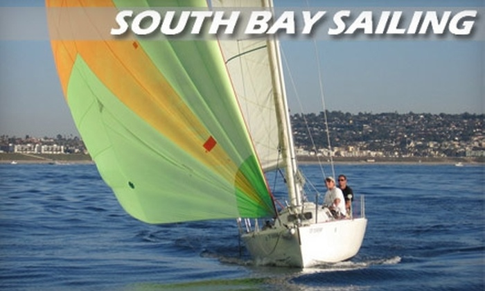 South Bay Sailing School - Redondo Beach: $130 for Two-Hours of Sailing for Up to Four People from South Bay Sailing