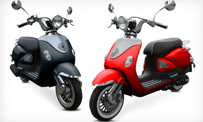 91dd67a676a62 Up to 44% Off Vinny 50cc or 150cc Scooter