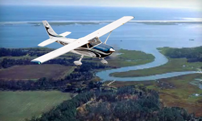 Horizon Flight Center - Pleasant Grove West: One or Two Tickets for Hampton Roads Scenic Air Tour from Horizon Flight Center in Chesapeake ($224 Value)