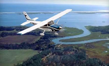 Horizon Flight Center: Two Tickets for Hampton Roads Scenic Air Tour  - Horizon Flight Center in Chesapeake