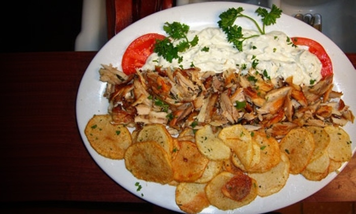 Santorini Grill - Williamsburg: $15 for $30 Worth of Greek Dinner at Santorini Grill (or $6 for $12 Worth of Brunch or Lunch)