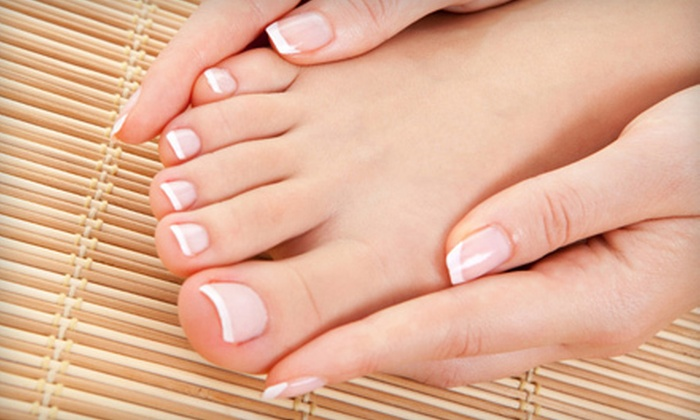 David Michael Salon & Day Spa - David Michael Salon & Day Spa: Mani-Pedi Package with Paraffin Dip or a Year's Worth of Manicures at David Michael Salon & Day Spa (Up to 59% Off)