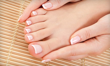 Manicure with Paraffin Dip and a Spa Pedicure (an $85 total value) - David Michael Salon & Day Spa in Simpsonville