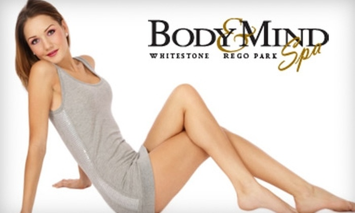 Body & Mind Laser Spa - Elmhurst: $99 for Your Choice of Laser Hair-Removal Packages at Body and Mind Laser Spa in Queens