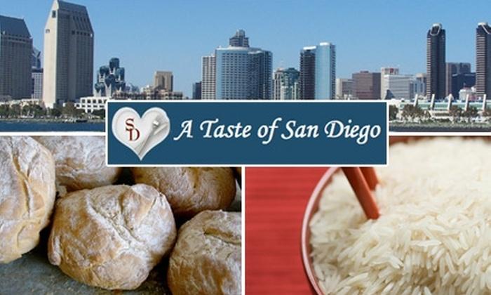 A Taste of San Diego - Gaslamp: $42 for A Taste of San Diego Downtown Food Tour
