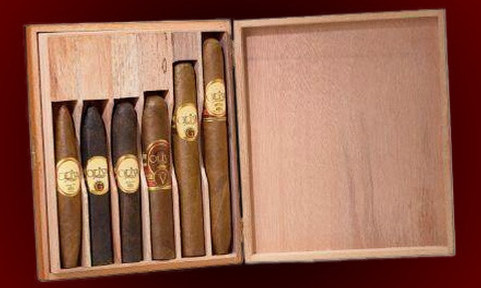 Hiland's Cigars - South Scottsdale: $29 for Oliva Sampler Package with Six Cigars and Cigar Cutter at Hiland's Cigars in Scottsdale ($54.98 Value)
