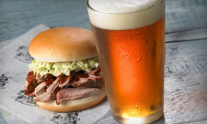 Red Hot & Blue - Annapolis: $12 for $25 Worth of Barbecue, Burgers, and Drinks at Red Hot & Blue