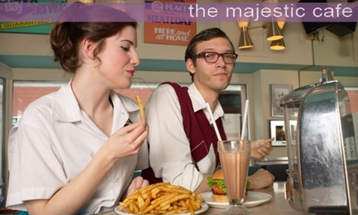 The Majestic Café - Port Gardner: $18 for $40 Worth of Classic American Cuisine and Drinks at The Majestic Café in Everett