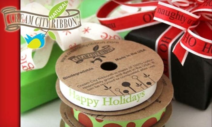 Cream City Ribbon - Haymarket: $7 for $15 Worth of Ribbon and More at Cream City Ribbon