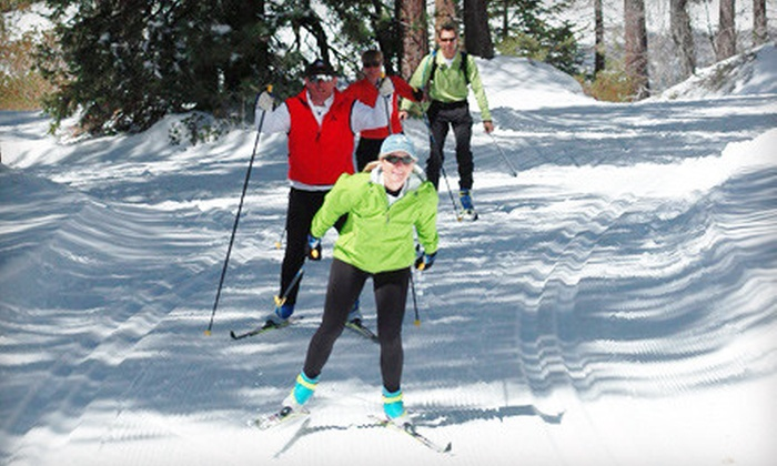 Rim Nordic Ski Area - Running Springs: Cross-Country Ski or Snowshoe Outing for One or Two at Rim Nordic Ski Area in Running Springs (Up to 54% Off)