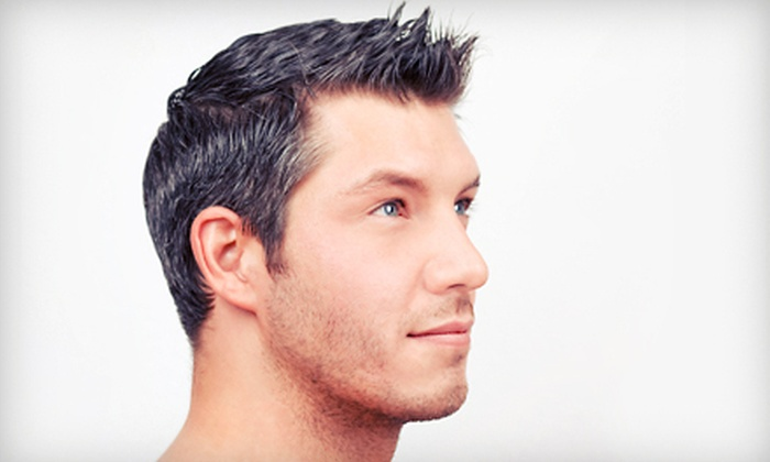 Barbie Barber Salon - Orange County: $12 for Men's Haircut, Wash, and Neck and Shoulder Massage at Barbie Barber Salon (Up to $24 Value)