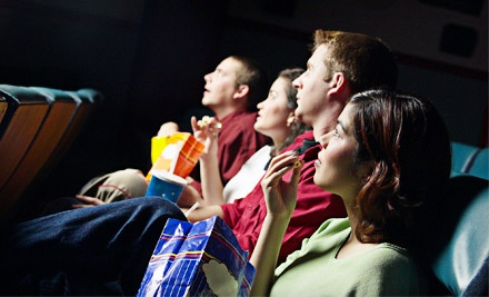 2 Movie Tickets, 1 Large Refillable Popcorn, and 2 Fountain Drinks - Park Plaza Cinema in Hilton Head