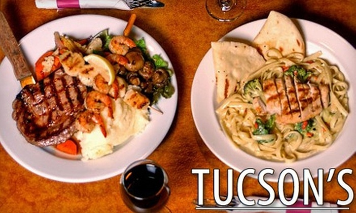 Tucson's Restaurant - South Keys - Heron Gate - Greenboro West: $12 for $25 Worth of Fresh Burgers, Steaks, and More at Tucson's Restaurant