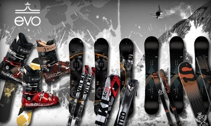 evo - Greenwood: $25 for $50 Worth of Ski & Snowboard Service and Gear at evo