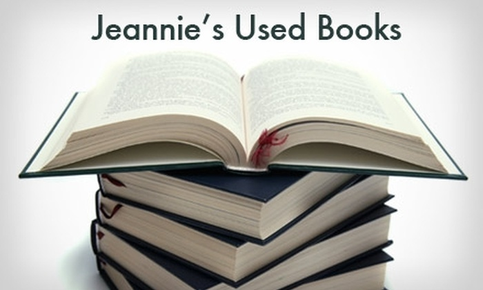 Jeannie's Used Books - Portsmouth: $9 for $20 Worth of Used Books from Jeannie's Used Books