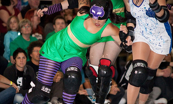 Bridgetown Brawl's Saturday Night Main Event - Lloyd District: $23 for a Roller-Derby Outing for Two to the Bridgetown Brawl at Memorial Coliseum on September 24 at 7 p.m. ($47.50 Value)