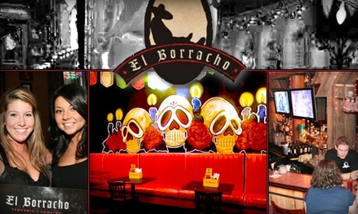 El Borracho - Downtown St. Louis: $5 for $15 Worth of Mexican Fare and Drinks at El Borracho