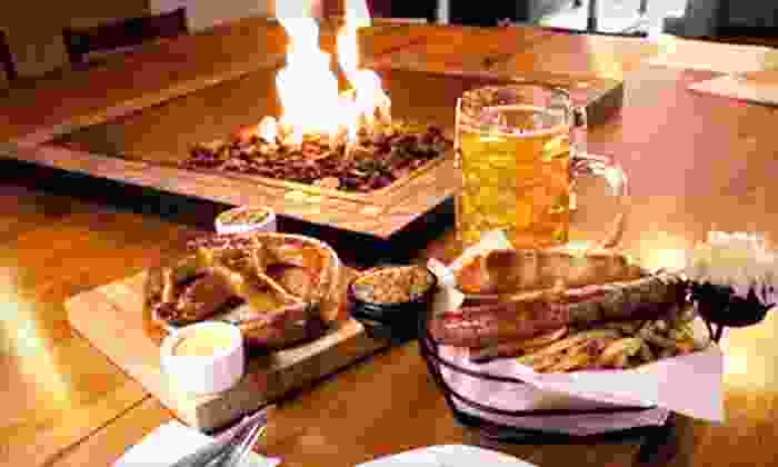 Berliner Pub - Renton: Oktoberfest Package for Four or $10 for $20 Worth of German Pub Fare at Berliner Pub in Renton