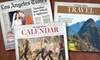 """""""Los Angeles Times"""" - San Buenaventura (Ventura): 52-Week Subscription to the Sunday or Thursday–Sunday Edition of the """"Los Angeles Times"""" (Up to 81% Off)"""