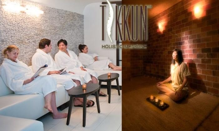 Tikkun Holistic Spa - Downtown Santa Monica: $30 Body Scrub and Green-Tea Bath Soak Plus Use of Spa Amenities at Tikkun Holistic Spa