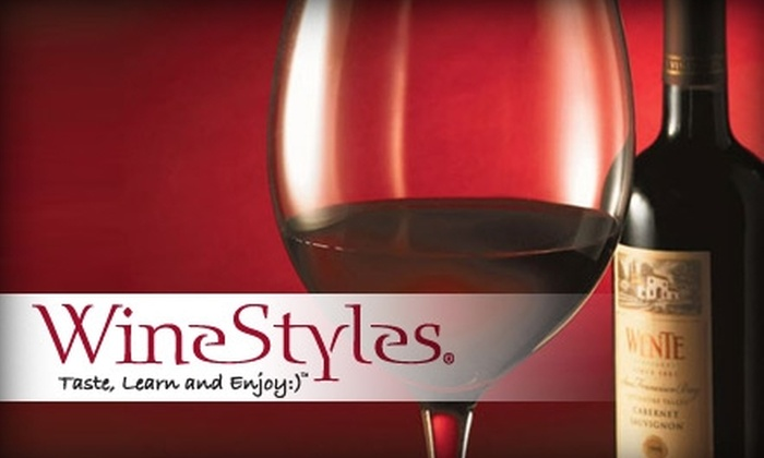 WineStyles - Multiple Locations: $9 for Two Wine Tastings at WineStyles ($20 Value)