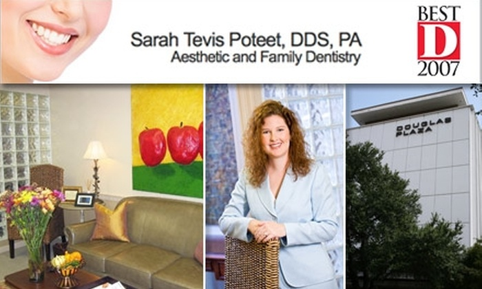 Sarah Tevis Poteet, DDS - Dallas: $55 for a Cleaning, Exam, and X-Rays from Sarah Tevis Poteet, DDS ($332 Value)