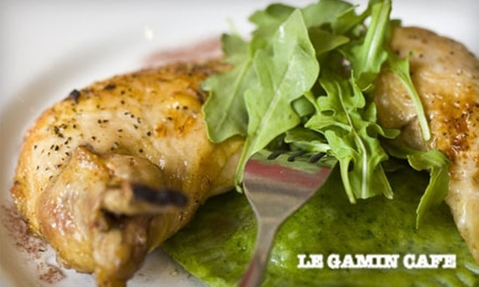 Le Gamin - Greenpoint: $20 for $40 or $10 for $20 Worth of French Cuisine at Le Gamin in Greenpoint