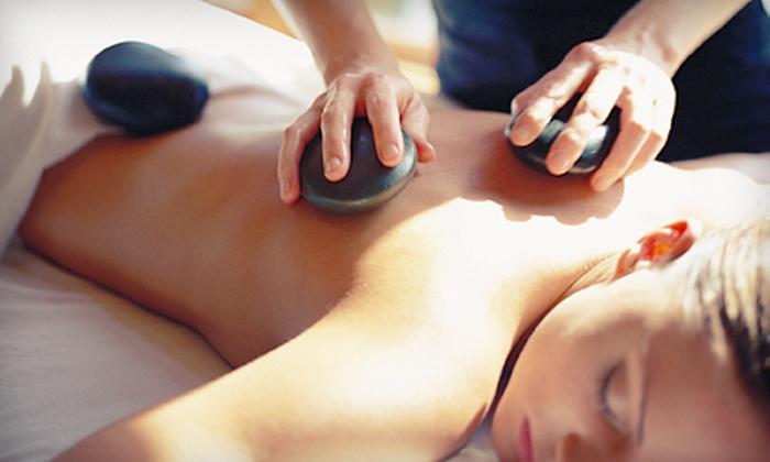 Organelle Spa & Salon - Spring Valley: $89 for a Spa Mani-Pedi and Hot-Stone Massage at Organelle Spa & Salon ($195 Value)