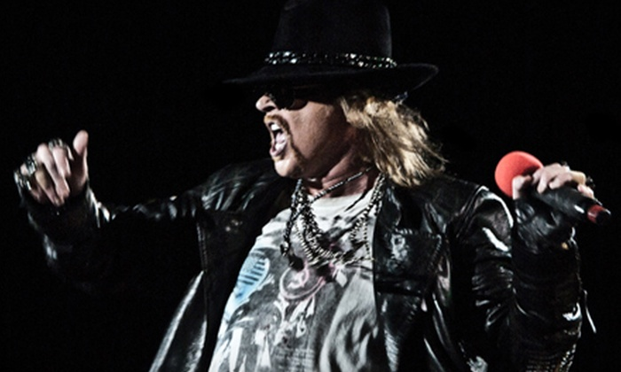 Guns N' Roses - Auburn Hills: Two Tickets to See Guns N' Roses at The Palace of Auburn Hills on December 1 at 8 p.m. Three Options Available.