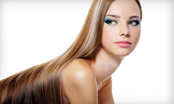 Deanna Maker Hair Designs - Wade Hampton: One or Three Haircut and Highlight Treatments at Deanna Maker Hair Designs