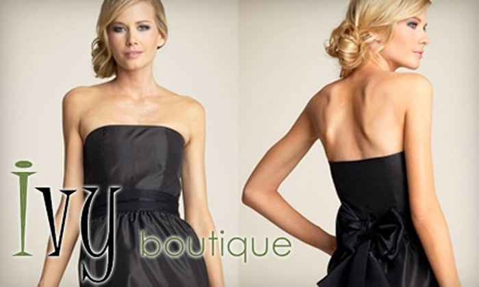 Ivy Boutique - Tempe: $20 for $40 Worth of Upscale Women's Resale Clothing and Accessories at Ivy Boutique in Tempe