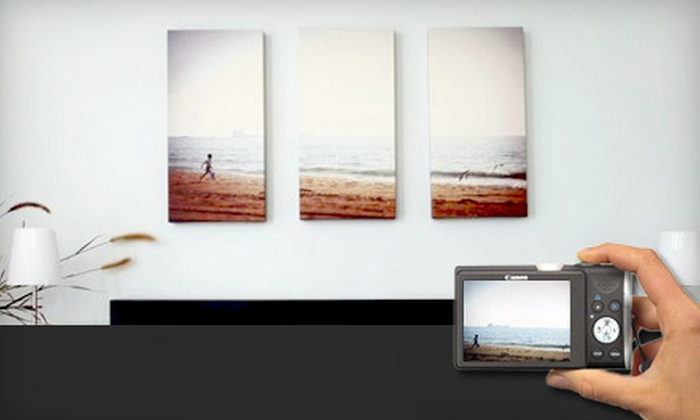"""CanvasPop - Palm Beach: $59 for One 16""""x20"""" Single-Panel Wrapped Canvas Plus a $30 Credit from CanvasPop ($143 Value)"""