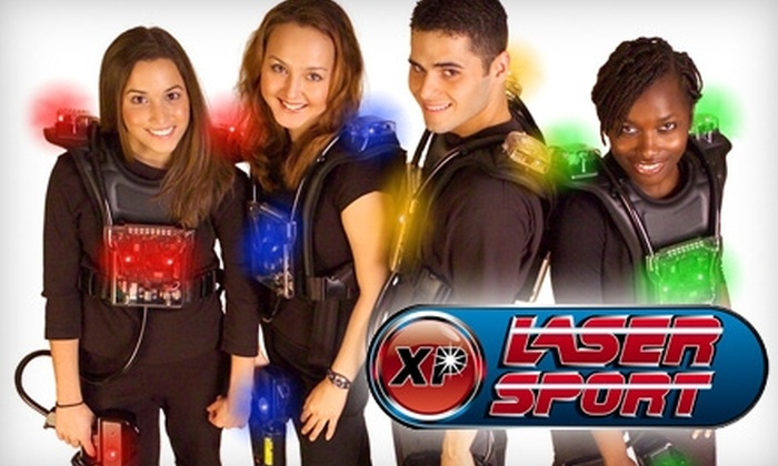 XP Laser Sport - Multiple Locations: $10 for Four Games of Laser Tag at XP Laser Sport ($24 Value)