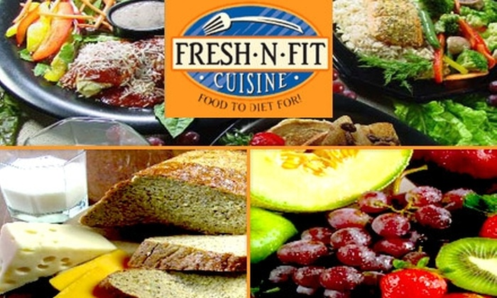 Fresh 'n Fit Cuisine - Multiple Locations: $64 for Fifteen Freshly-Prepared Meals from Fresh 'n Fit Cuisine (a $128 Value)