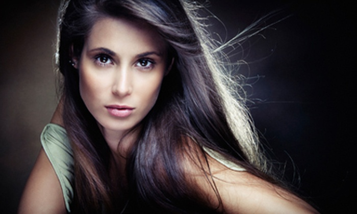 Fiaz Salon & Spa - West Bloomfield: Cut-and-Blowout or Cut-and-Color Package with Conditioning at Fiaz Salon & Spa in West Bloomfield (Up to 57% Off)