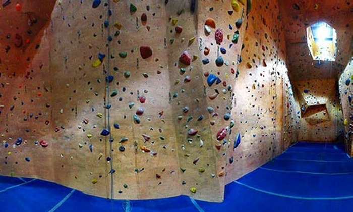 Hangar 18 - Multiple Locations: $30 for Two Indoor Rock-Climbing Packages at Hangar 18 ($60 Value)