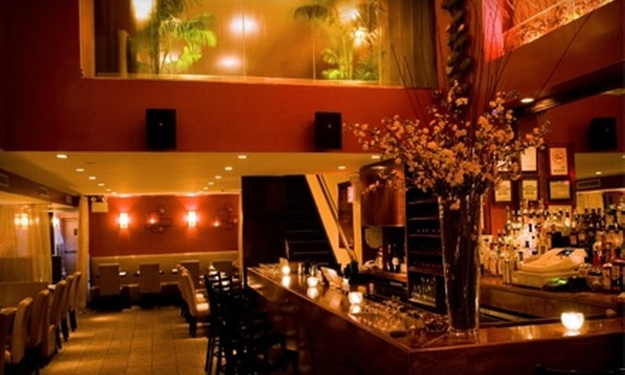 PEOPLE Kitchen & Lounge - Bowery: $20 for $40 Worth of Asian-Inspired Fare and Drink at People Kitchen & Lounge